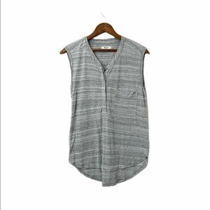 COPY - Madewell Grey Sleeveless Top